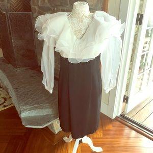 Vintage organza top dress